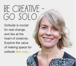 Be creative - go solo